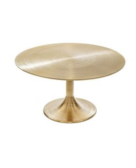 KAMPAI COFFEE TABLE H40 D77,GOLD