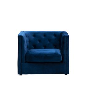 BOYD 1-SEATER,DARK BLUE,FAB