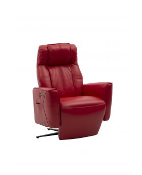 HTL RECLINER CHAIR,RED,LTR