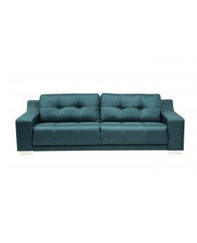 STORM 3 SEATER SOFA,TURQUISE,FAB