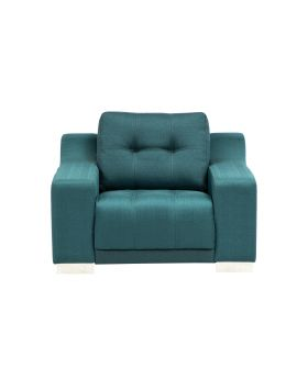 STORM SOFA CHAIR,TURQUISE,FAB