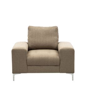 COSMIC SOFA CHAIR , BEIGE , FAB