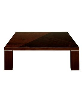 Capri Square Coffee Table,Walnut