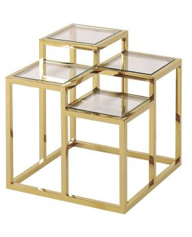 GOLDEN ALVAR SIDE TABLE,GOLD