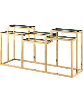 GOLDEN ALVAR II CONSOLE,GOLD