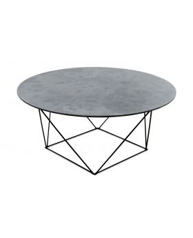 TRAPEZE COFFEETABLE BLACK