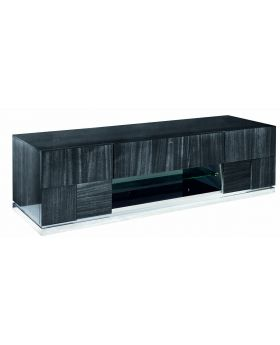 MONTECARLO TV UNIT , GREY HIGH GLOSS