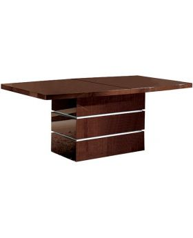GARDA EXTENSIBLE DINING TABLE,WALNUT