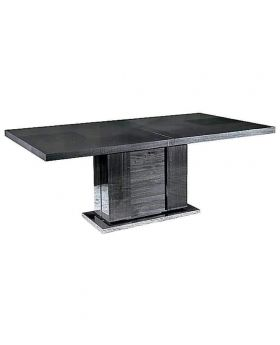 MONTECARLO DININGTABLE EXTEND GREY HG GL