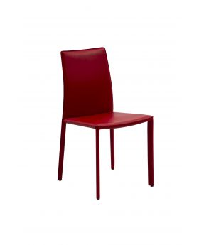 GIADA DINING CHAIR, RED, LTR