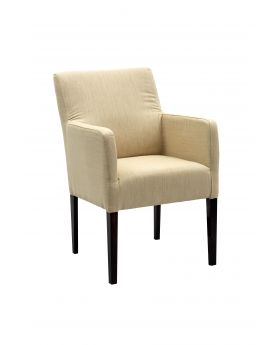 AVEO DINING CHAIR,BEIGE,FAB