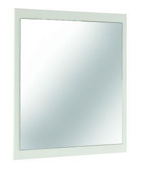 IMPERIA MIRROR , WHITE HIGH GLOSS PANEL