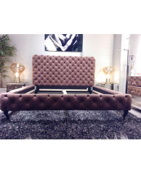 Bed Desire High Individual Fabric 2 180X200 Cm  (Excluding Bed Slat And Mattress)