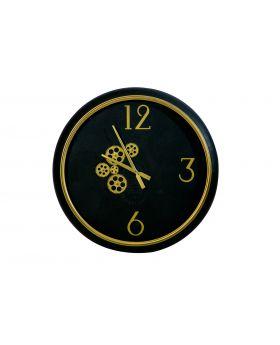 WALL CLOCK    'SATURN'  D62x8cm