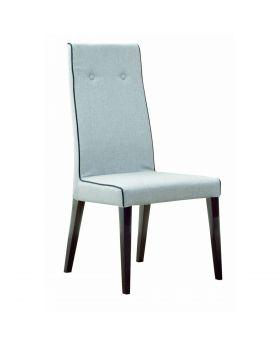 Montecarlo Dining Chair Grey High Gloss