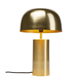 Table Lamp Loungy Gold (Excluding Bulb)