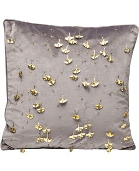 Cushion Gingko Grey 45X45Cm