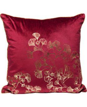 Cushion N Gingko Tree Purple 45X45Cm