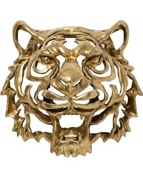 Wall Decoration Tiger Gold