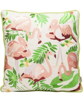 Cushion Exotic Flamingo 45X45Cm