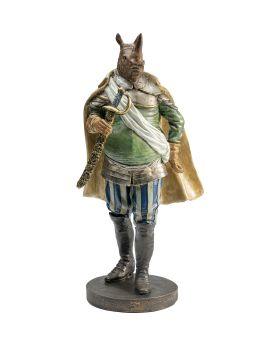 Deco Figurine Sir Rhino Standing