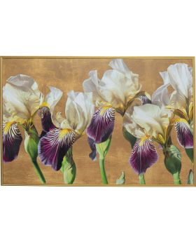 Framed Picture Orchid 150X100Cm