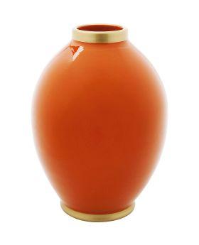 Vase Zebra 32Cmorange
