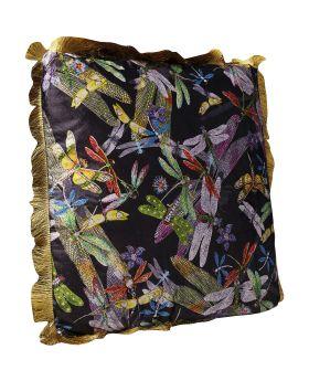 Cushion Tropical Garden Fringe 45X45Cm