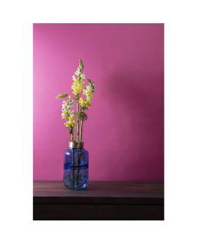 Vase Positano Belly Blue 28Cm
