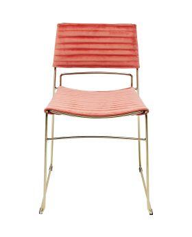 Dining Chair Hugo Mauve Gold,Fab
