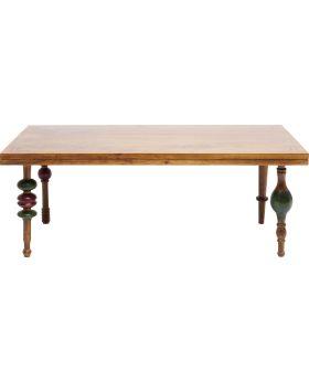 Coffeetable Sliderule120X60Cm,Wood/Metal