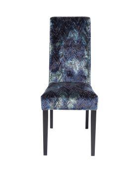 Dining Chair Econo Slim Fancy Blue,Fab
