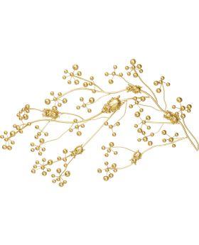 Wall Wardrobe Beetle On Tree Gold,Golden