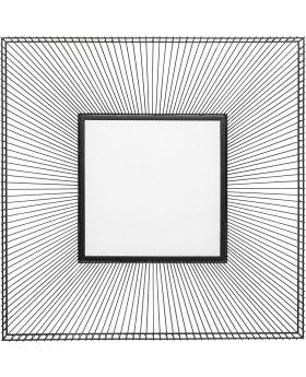 Mirror Dimension Square 91X91Cm,Black