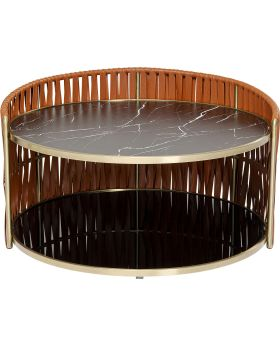 Coffee Table Copper Dia86Cm,
