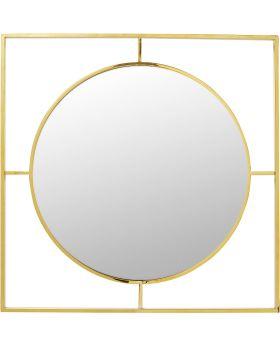 Mirror Stanford Frame Gold DIA90