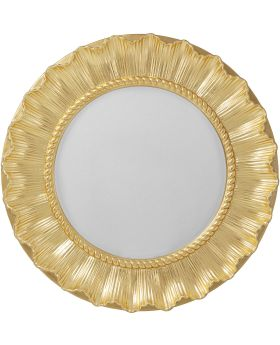 Wall Mirror Sun Ray Gold DIA84Cm