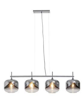 Hanging Lamp Chrome Goblet Quattro (Excluding Bulb And Socket)