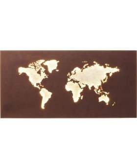 Wall Lamp Map Led (Excluding Bulb And Socket)