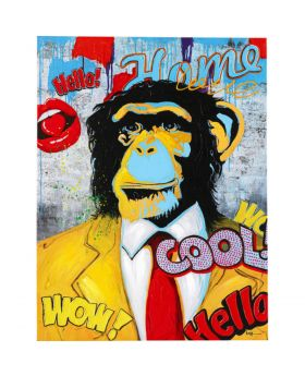 Picture Touched Show Monkey 120X90Cm