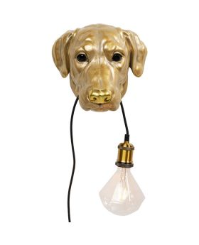 Wall Lamp Dog Head (Excluding Bulb And Socket)