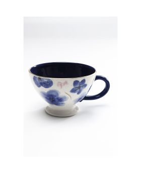 Coffee Cup Provence Flowersblue