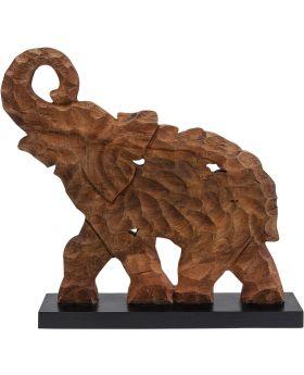 Deco Object Frame Happy Elephant,