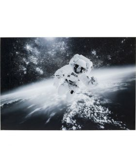 Picture Glass Man In The Sky 100X150Cm