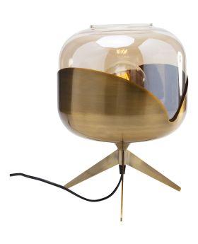Table Lamp Golden Goblet Ball (Excluding Bulb)