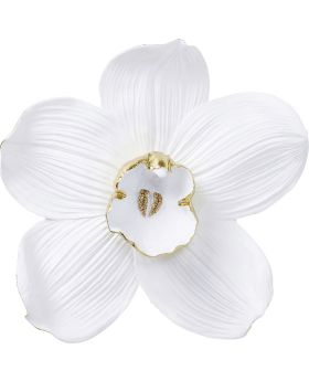 Wall Decoration Orchid White 54Cm
