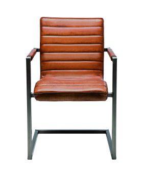 Cantilever Chair Riffle Buffalo Brown