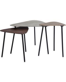 Coffee Table Loft Triangle Vintage (3/Set)
