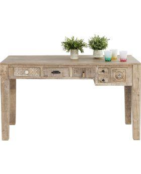 Desk Puro 135x60cm 6Drawers
