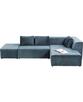 Sofa Infinity Velvet Ocean Right